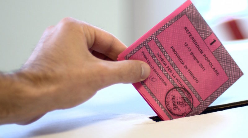 storia del sistema elettorale in Italia